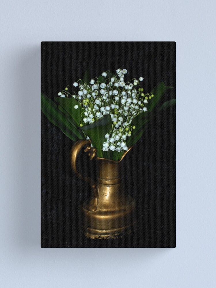 Alternate view of Lily of the valley Canvas Print
