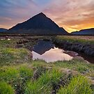 The Mountain - Buachaille Etive Mor by Michael Breitung
