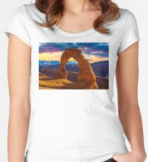 Arches National Park Women's Fitted Scoop T-Shirt