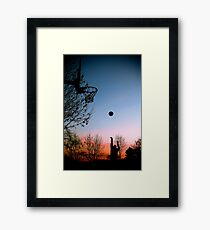 Hoops. Framed Print