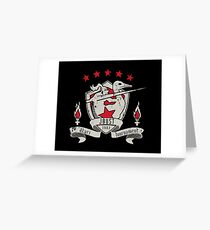 Joust Greeting Card
