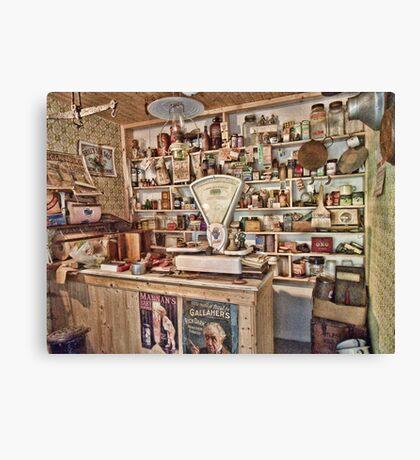 The Local Shop Canvas Print