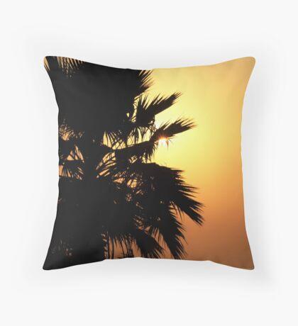 Sunrise photographer Throw Pillow