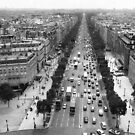 from on top of Arc de Triomphe by geof