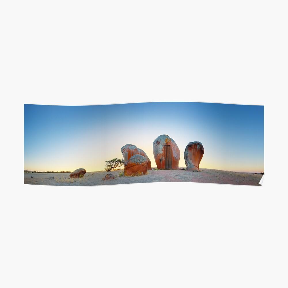 Murphys Haystacks, Eyre Peninsula, South Australia Poster