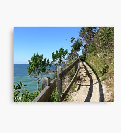 Coastal walk Canvas Print