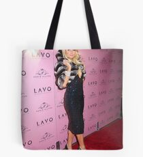 Paris Hilton Tote Bag