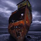 Ghost Ship  - Motueka, New Zealand by Mark Shean