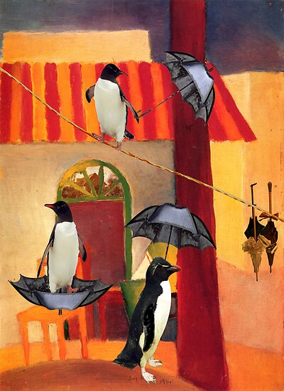 Penguin Cafe by Sarah Vernon