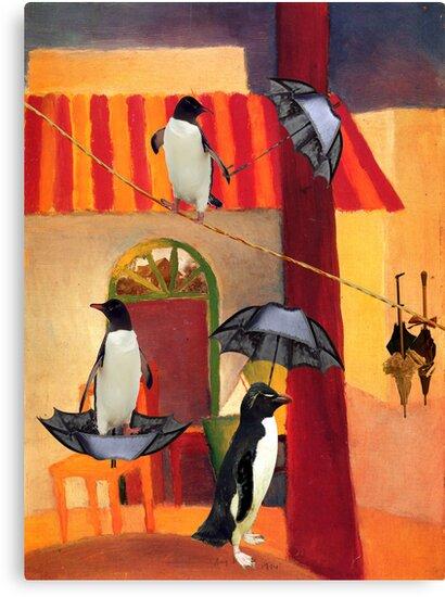 Penguin Cafe by Sarah Vernon