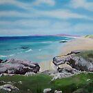 Islay's Singing Sands Beach by Helen Imogen Field
