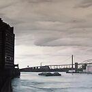 Towards the Bronx - East River, New York by Helen Imogen Field