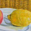 Lemon meets apple by Helen Imogen Field