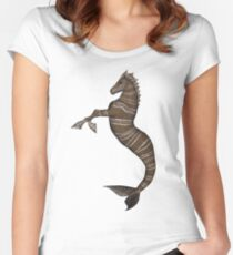Hippocampus Women's Fitted Scoop T-Shirt