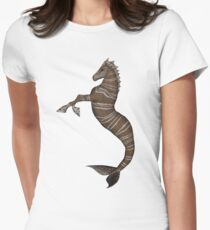 Hippocampus Women's Fitted T-Shirt