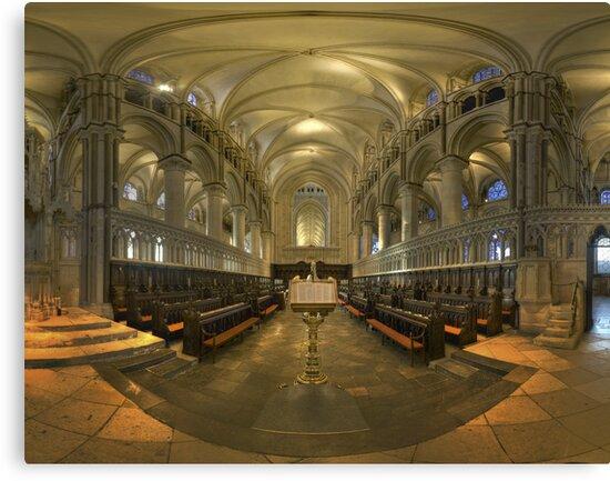 Canterbury Choir by Bob Culshaw