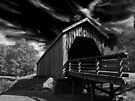 Auchumpkee Creek Bridge - B&W by Jim Haley