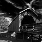 Auchumpkee Creek Bridge - B&W by Jim Haley