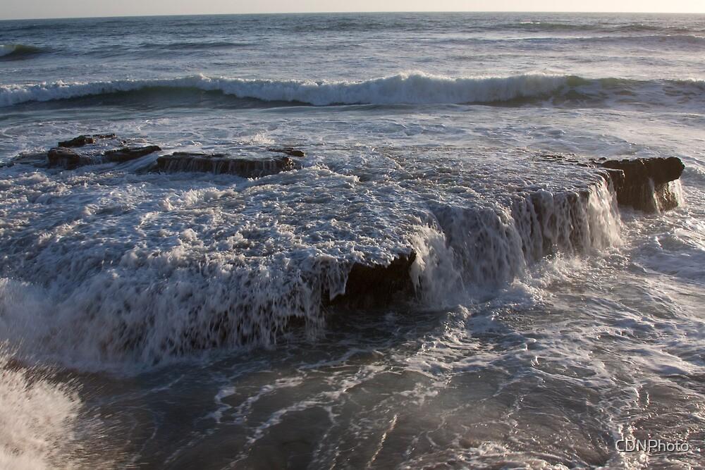 Ocean Cascade by CDNPhoto