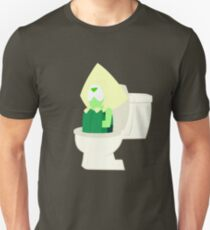 Peridot in the Toilet - Steven Universe ( Catch and Release ) T-Shirt