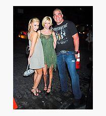 Monique Alexander, Jenna Jameson, and Tito Ortiz Photographic Print