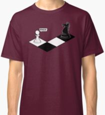 Knight Takes Pawn Classic T-Shirt