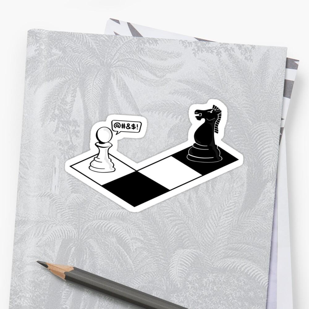 Knight Takes Pawn by jcthomason