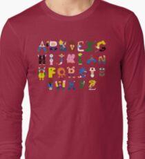 Gamer's Alphabet Long Sleeve T-Shirt