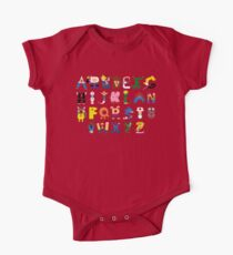 Gamer's Alphabet One Piece - Short Sleeve