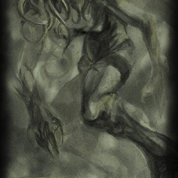 Foggy Cthulhu by DanielBDemented