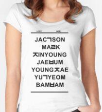 love got7 Women's Fitted Scoop T-Shirt