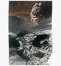 Eyjafjallajökull eruption Poster