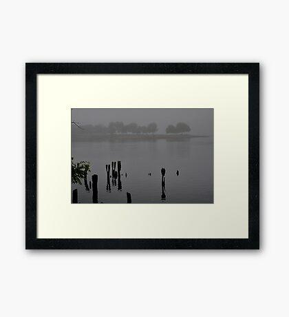 Across the Inlet Framed Print