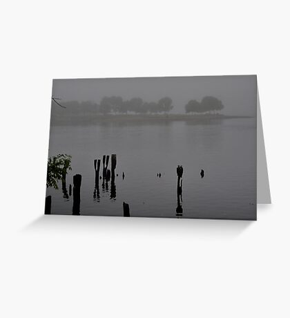 Across the Inlet Greeting Card