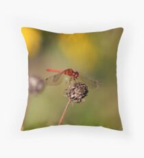 The Evening Visitor Throw Pillow