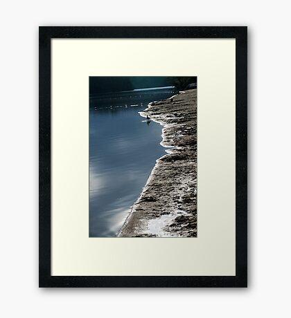 Shore's Edge Framed Print