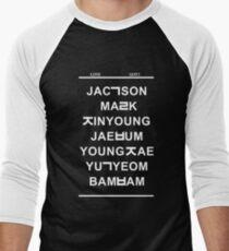 love got7 black T-Shirt