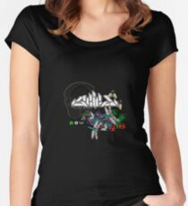 Seied - Bugz In My Headphonez Official Merch Women's Fitted Scoop T-Shirt