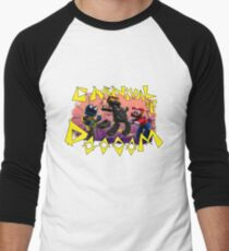 Carnival of Doooom w/Text Men's Baseball ¾ T-Shirt