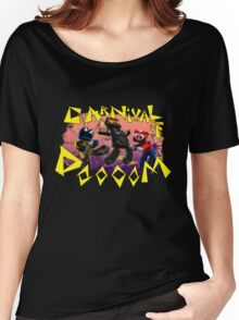 Carnival of Doooom w/Text Women's Relaxed Fit T-Shirt