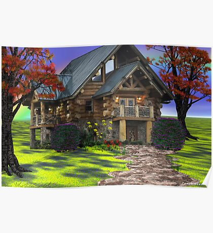I Dream of a House in the Country Poster