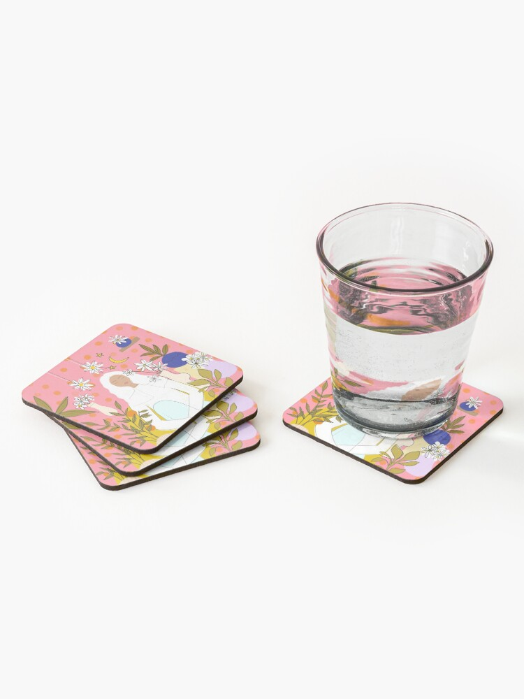 Alternate view of CALM Coasters (Set of 4)