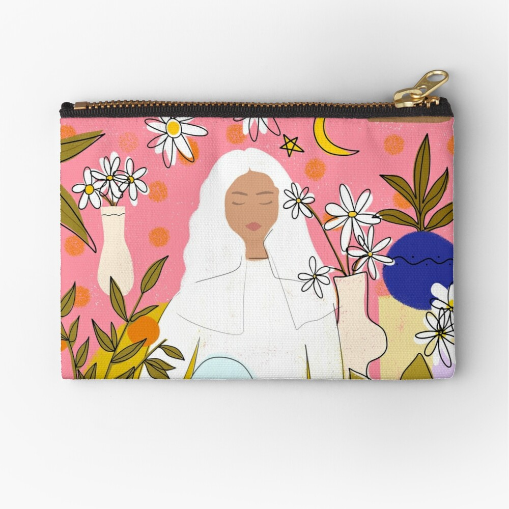 CALM Zipper Pouch