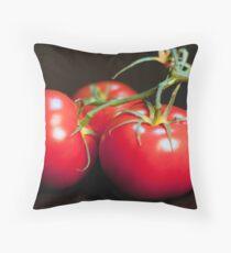 Tomatos Throw Pillow