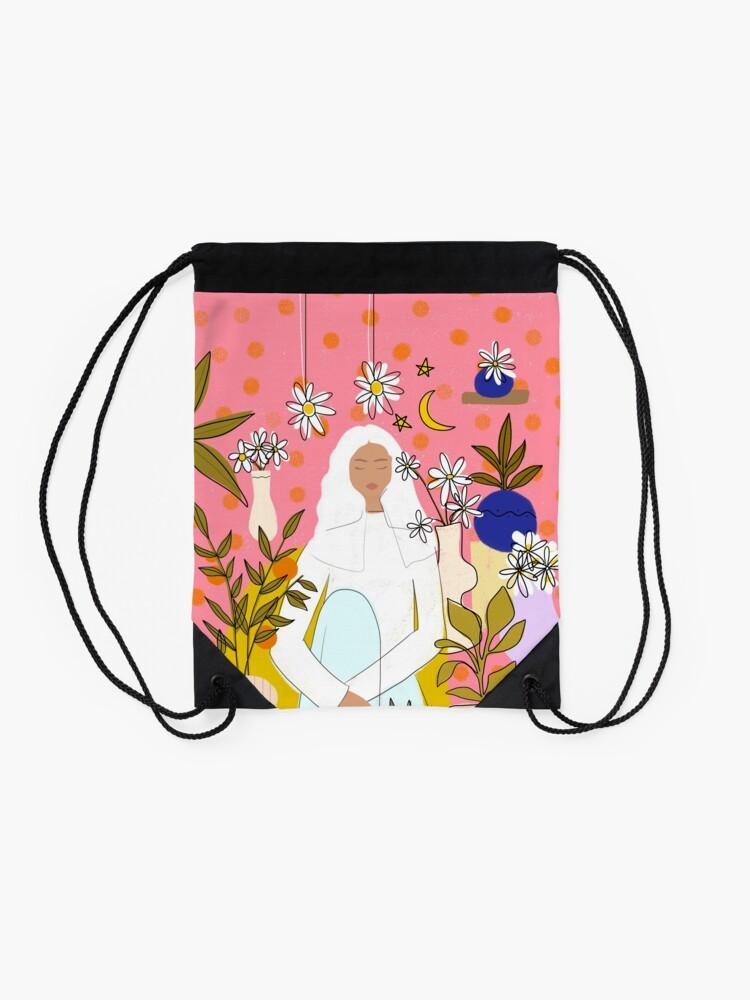 Alternate view of CALM Drawstring Bag