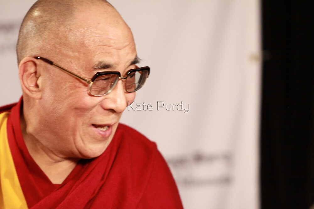 H.H., the 14th Dalai Lama by Kate Purdy