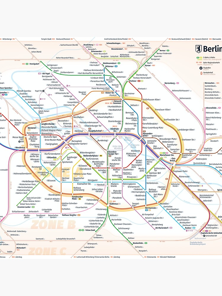 New Berlin rapid transit route map (December 15, 2019) by omelekhinpasha