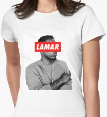 """Kendrick Lamar """"LAMAR"""" OBEY Style Womens Fitted T-Shirt"""