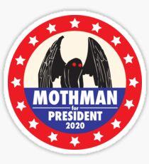 Mothman For President Sticker
