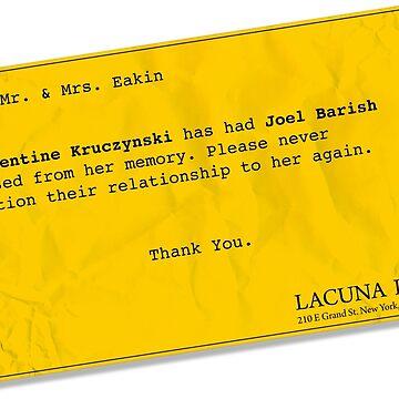 Lacuna Reminder by OffRedEye